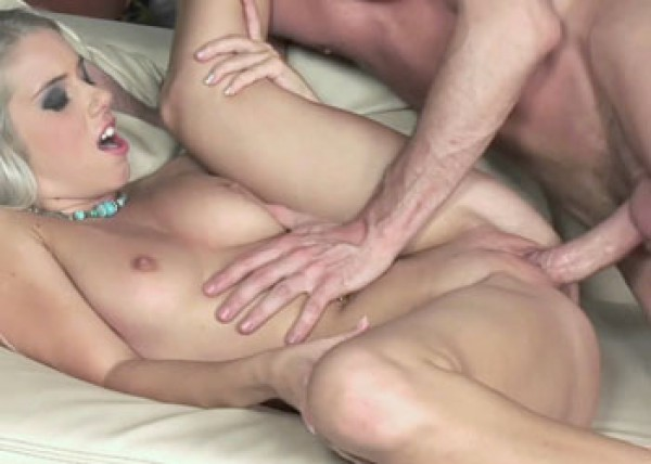 Petite blonde Nesty is getting laid