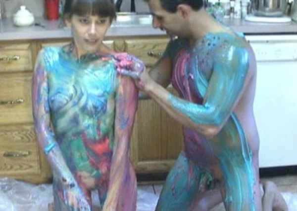 Samantha & Mikey get messy